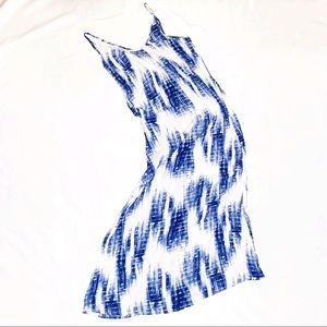 Sydney rose tie dye print maxi dress size M.